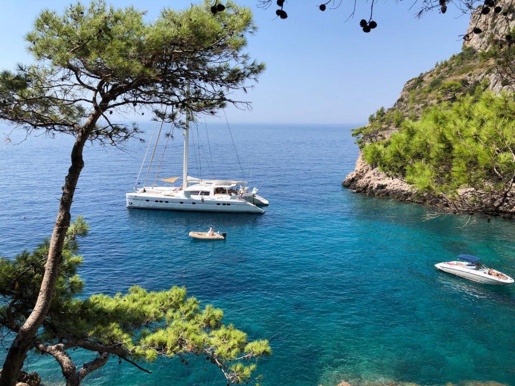 Catana Catamaran ORION Windward Islands 2020 Spring Adventure Charter Catamaran Multihull Caribbean