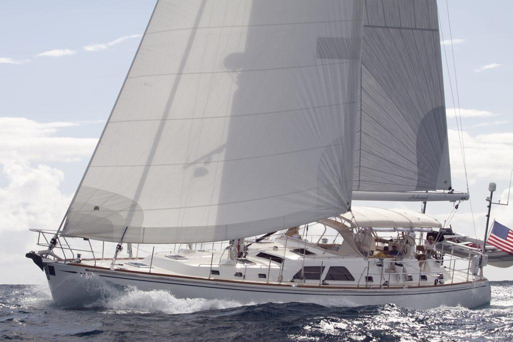 Hylas ARCHANGEL, Nicholson Yachts, Nicholson Sailing Yachts, Nicholson Charter Yacht, Nicholson Caribbean, St. Thomas, USVI, BVI, St. John, Virgin Gorda, Luxury Travel, Luxury Yacht, Crewed Yacht Charter, Caribbean Charter, Charter Yacht