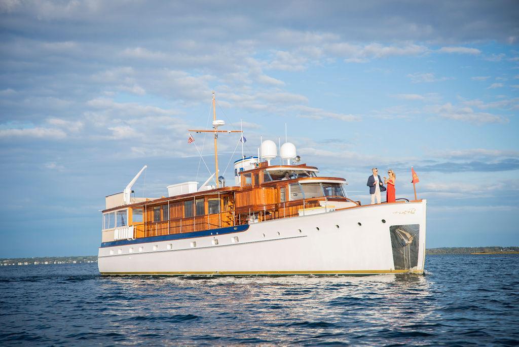 Restored 1947 Trumpy Motor Yacht BB