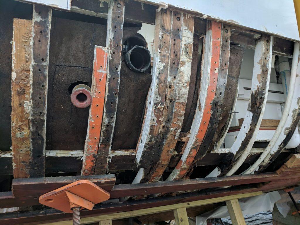Restoration of 1947 Trumpy Motor Yacht BB