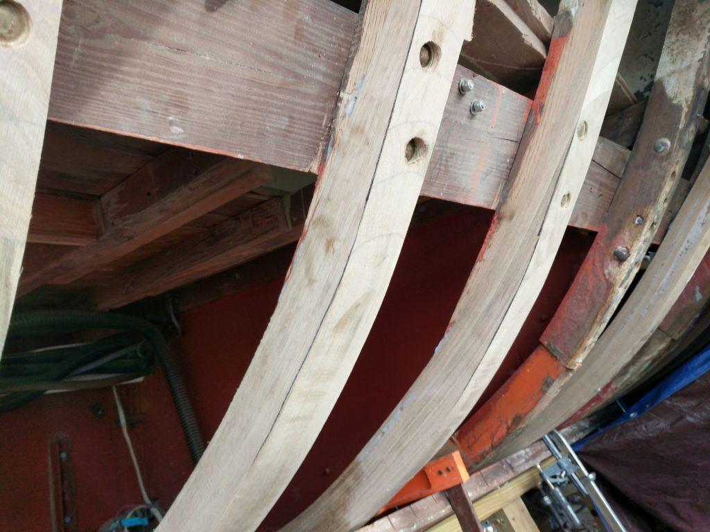 New Bent timbers