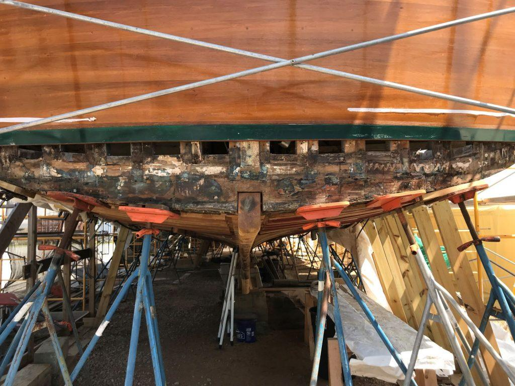 Stern needed to be replaced