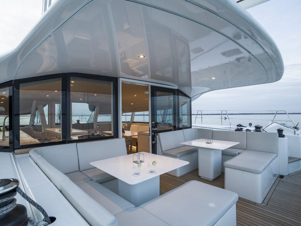 CYGNUS CYGNUS spacious aft deck