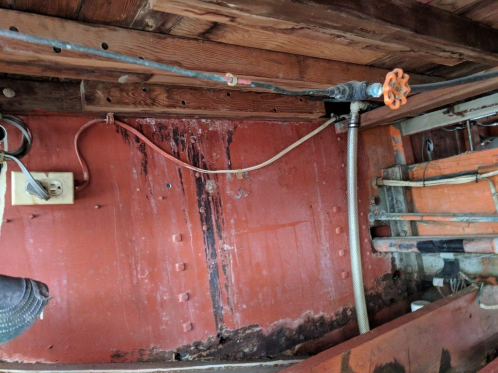 Rusted metal to be refabricated