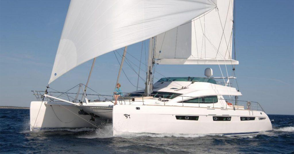 75' Privilege Catamaran MATAU for charter
