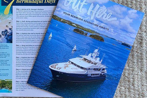 Your Bermuda Adventure Awaits brochure cover