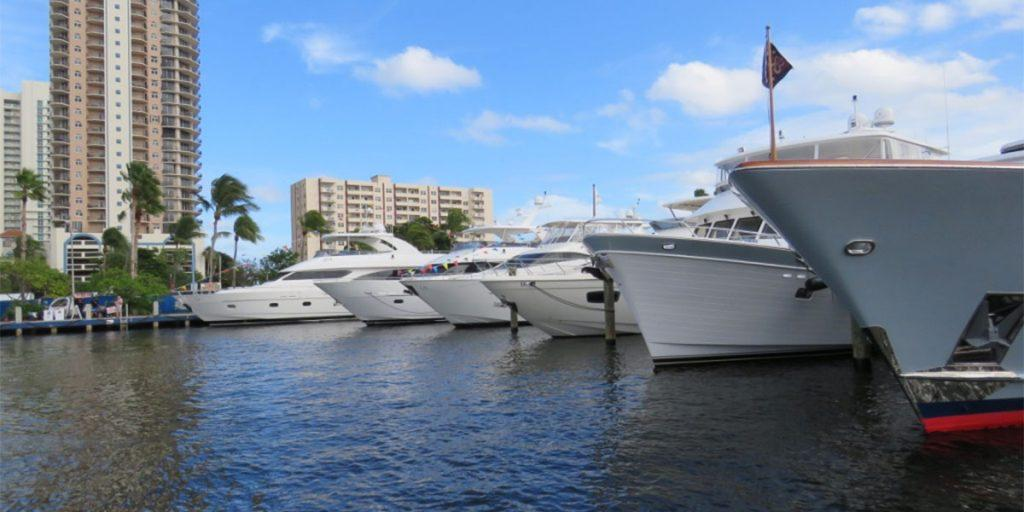 Fort Lauderdale is the Yachting Capital of the World. World-famous Bahia Mar Marina is one of 100 marinas in Greater Fort Lauderdale.