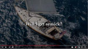 Will I get seasick? Yacht charter FAQs answered by a professional yacht captain.